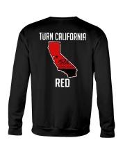 Turn California Red Shirt Crewneck Sweatshirt thumbnail