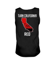 Turn California Red Shirt Unisex Tank thumbnail