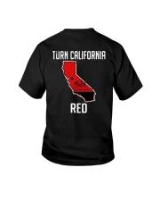 Turn California Red Shirt Youth T-Shirt thumbnail