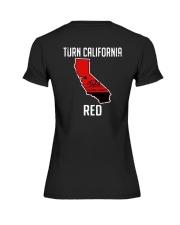 Turn California Red Shirt Premium Fit Ladies Tee thumbnail