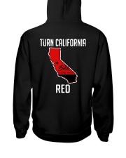 Turn California Red Shirt Hooded Sweatshirt thumbnail