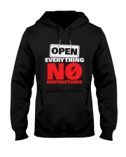 Open Everything No Restrictions Shirt Hooded Sweatshirt thumbnail