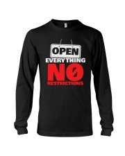 Open Everything No Restrictions Shirt Long Sleeve Tee thumbnail