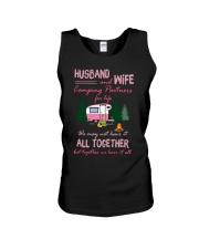 Husband And Wife Camping Partners For Life Shirt Unisex Tank tile