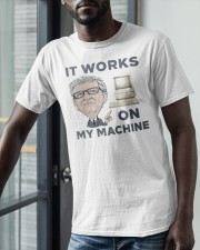 Computer Bill Gates It Works On My Machine Shirt Classic T-Shirt apparel-classic-tshirt-lifestyle-front-39