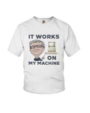 Computer Bill Gates It Works On My Machine Shirt Youth T-Shirt thumbnail