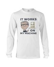 Computer Bill Gates It Works On My Machine Shirt Long Sleeve Tee thumbnail