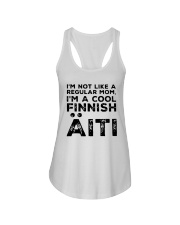 Im Not Like A Regular Mom Im A Cool Finnish Shirt Ladies Flowy Tank thumbnail