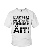 Im Not Like A Regular Mom Im A Cool Finnish Shirt Youth T-Shirt thumbnail