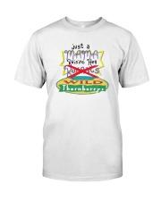 Just A Mama Raising Her Wild Thornberrys Shirt Classic T-Shirt front