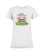 Just A Mama Raising Her Wild Thornberrys Shirt Premium Fit Ladies Tee thumbnail
