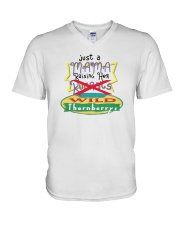 Just A Mama Raising Her Wild Thornberrys Shirt V-Neck T-Shirt thumbnail