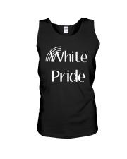 Hilary Sargent White Pride Shirt Unisex Tank thumbnail