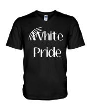Hilary Sargent White Pride Shirt V-Neck T-Shirt thumbnail