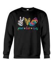 Peace Love Crocs Shirt Crewneck Sweatshirt thumbnail