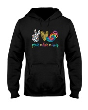 Peace Love Crocs Shirt Hooded Sweatshirt thumbnail