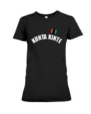 Kunta Kinte Colin Kaepernick Shirt Premium Fit Ladies Tee thumbnail