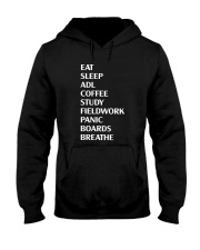 Eat Sleep Adl Coffee Study Fieldwork Panic Shirt Hooded Sweatshirt thumbnail