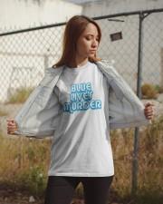 Blue Lives Murder Shirt Classic T-Shirt apparel-classic-tshirt-lifestyle-07