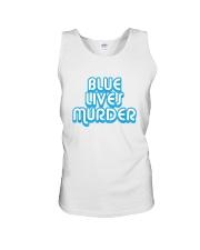 Blue Lives Murder Shirt Unisex Tank thumbnail