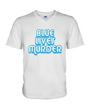 Blue Lives Murder Shirt V-Neck T-Shirt thumbnail