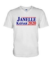 Janelle Kaysar 20 Shirt V-Neck T-Shirt thumbnail