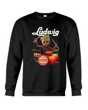 Drums Baby Groot Ludwig Shirt Crewneck Sweatshirt thumbnail