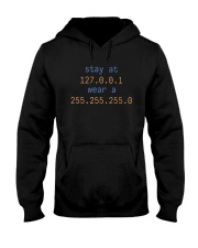 Stay At 127 0 0 1 Wear A 255 255 255 0 Shirt Hooded Sweatshirt tile