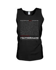 Seattle Storm Black Women Are Killed Police Shirt Unisex Tank tile