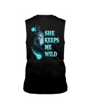 Wolf She Keeps Me Wild Shirt Sleeveless Tee thumbnail