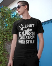 Atv I Dont Crush I Just Stop With Style Shirt Classic T-Shirt apparel-classic-tshirt-lifestyle-17