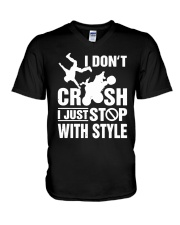 Atv I Dont Crush I Just Stop With Style Shirt V-Neck T-Shirt thumbnail
