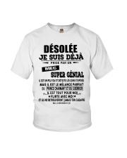 Désolée Je Suis Déjà Prise Par Un Mec Shirt Youth T-Shirt thumbnail