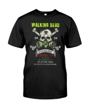 Skillet 2020 Pandemic Covid 19 Shirt Classic T-Shirt front