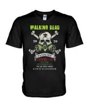 Skillet 2020 Pandemic Covid 19 Shirt V-Neck T-Shirt thumbnail