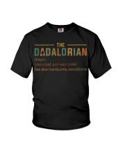 The Dadalorian Definition Like A Dad Shirt Youth T-Shirt thumbnail