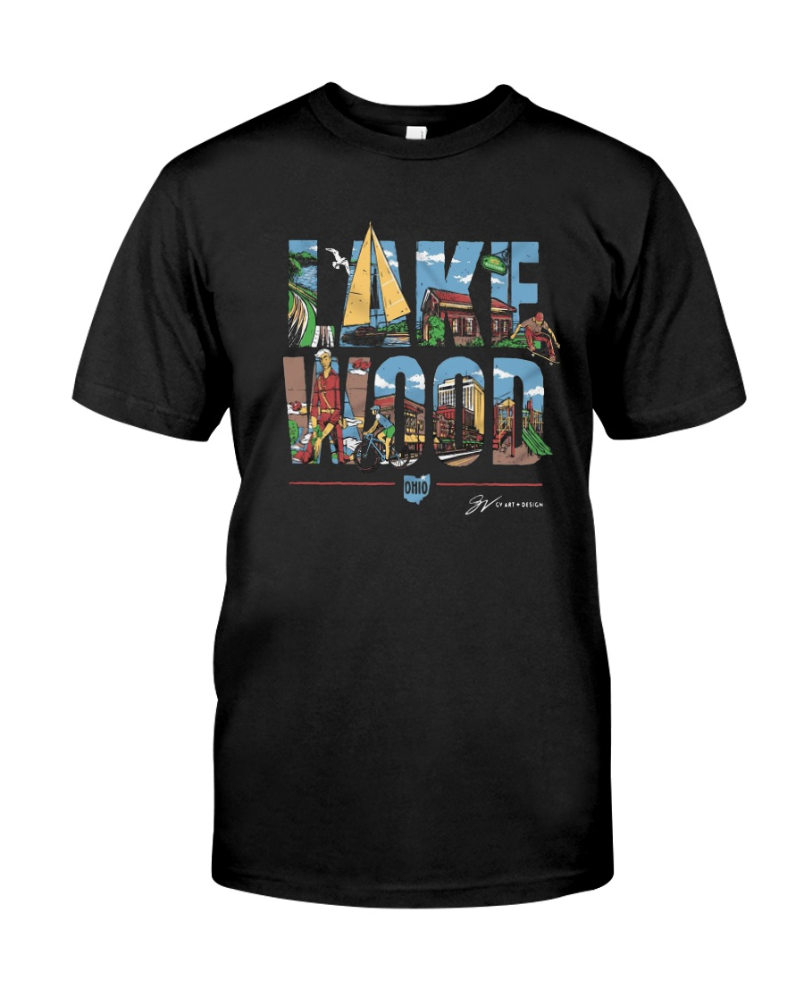 Gv Art Design Lakewood Shirt Premium Fit Mens Tee
