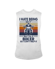 Vintage I Hate Being Sexy But Im A Biker Shirt Sleeveless Tee thumbnail