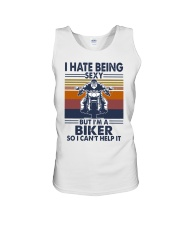 Vintage I Hate Being Sexy But Im A Biker Shirt Unisex Tank thumbnail