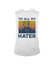 Vintage Trump To All My Hater Shirt Sleeveless Tee thumbnail