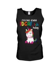 Unicorn Feeling Kinda Idgaf Ish Today Shirt Unisex Tank thumbnail