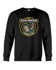 Stache Brothers Matt Chapman And Matt Olson Shirt Crewneck Sweatshirt thumbnail