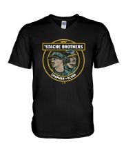 Stache Brothers Matt Chapman And Matt Olson Shirt V-Neck T-Shirt thumbnail