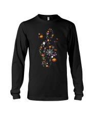 Halloween Music Note Symbol Shirt Long Sleeve Tee thumbnail