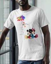 Flower And Dragonfly Mickey Let It Be Shirt Classic T-Shirt apparel-classic-tshirt-lifestyle-front-39
