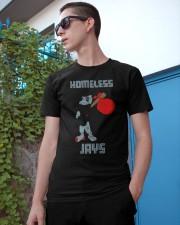 Homeless Jays Shirt Classic T-Shirt apparel-classic-tshirt-lifestyle-17
