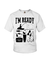 Fishing That Enough Im Ready Shirt Youth T-Shirt tile