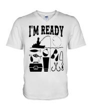 Fishing That Enough Im Ready Shirt V-Neck T-Shirt thumbnail