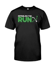 Establish The Run Shirt Premium Fit Mens Tee front