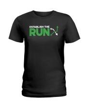 Establish The Run Shirt Ladies T-Shirt thumbnail